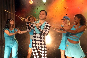 Based on this pic, William Hung has better stats than me.
