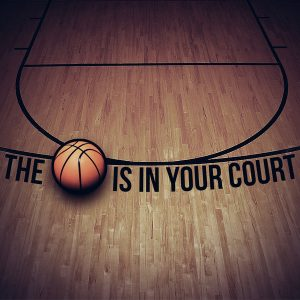 The ball is in your court, idiom: It's your turn to decide. It's your move to make. Click pic for source.