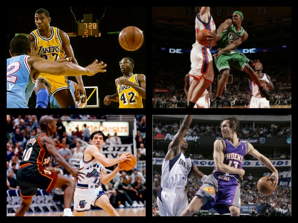 Some of my favorite playmakers. Who are yours?