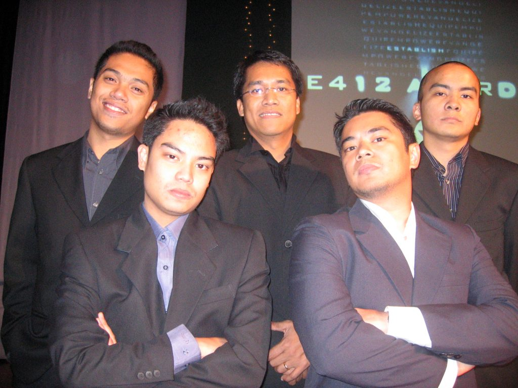 The Victory Ortigas campus ministry team in 2005. Yes, I was bald then. That's another story for another time.