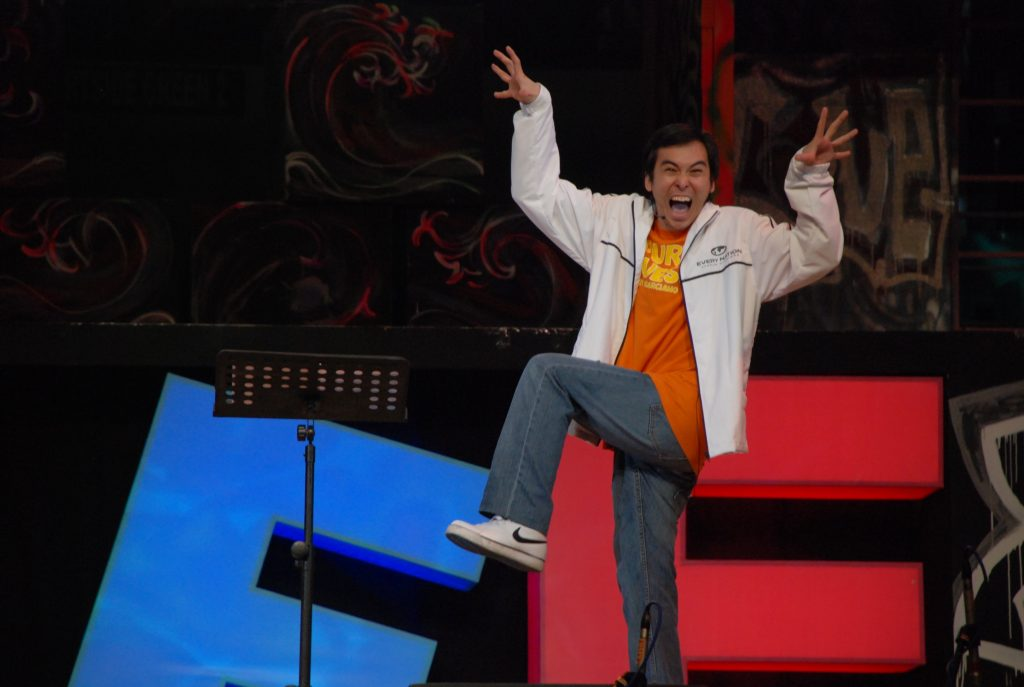 Can't blog about him without using this picture. Ryan preaching a powerful message at our 2008 campus conference.